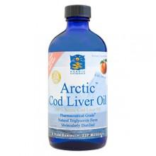 ARCTIC COD LIVER OIL OMEGA-3 SUPPLEMENT - 8 FLUID  OZ -  PEACH
